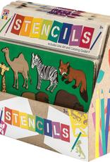 Schylling Art Box Stencils