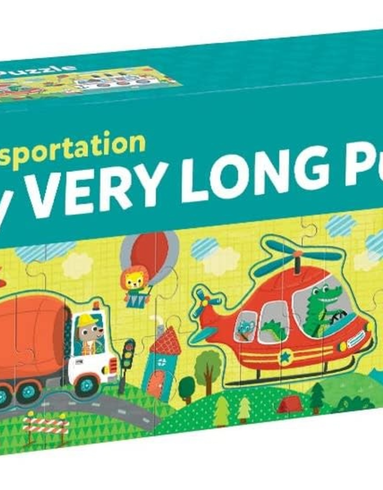 Chronicle Books 30pc Puzzle: Very Long Transportation