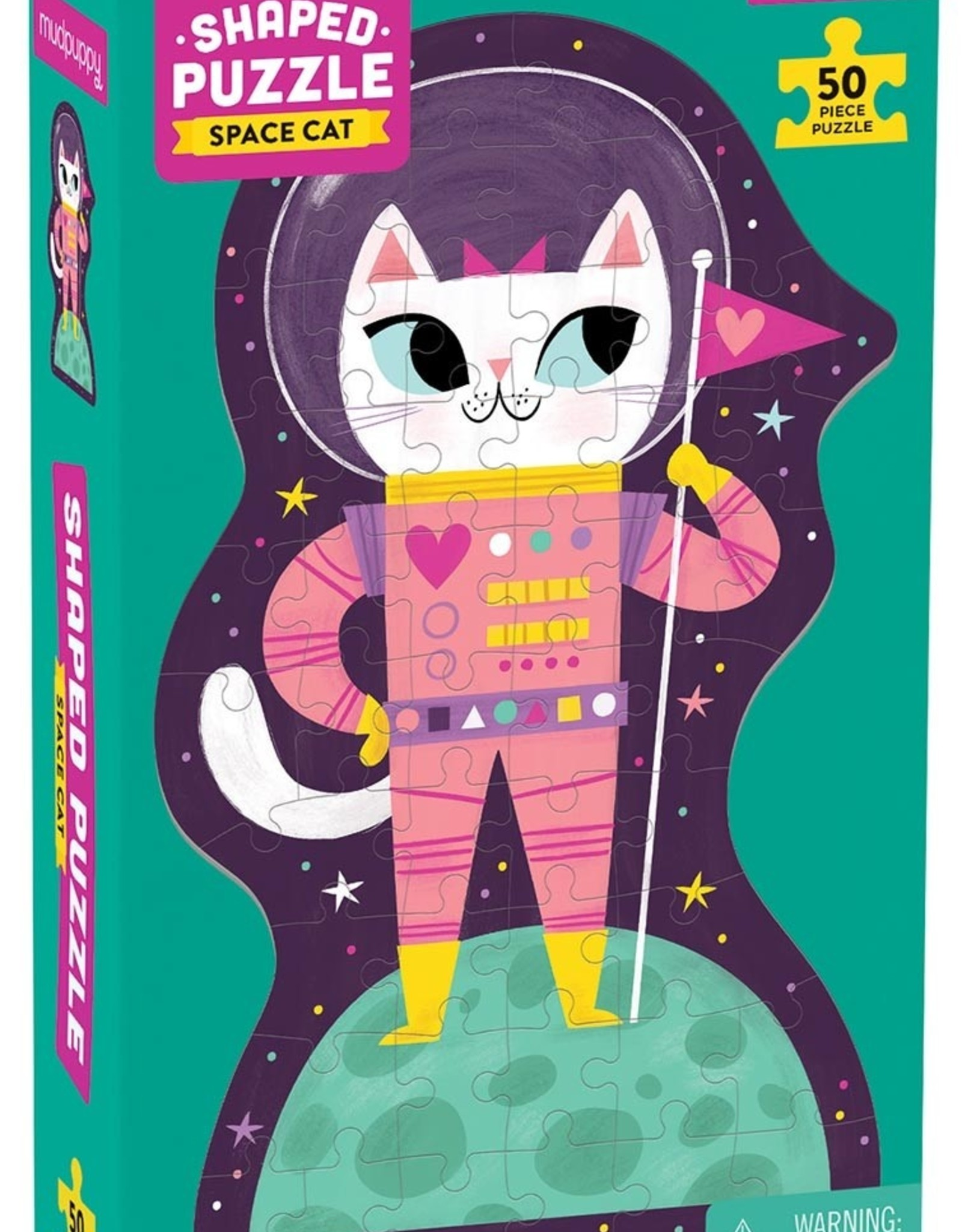 Chronicle Books 50 pc Puzzle: Space Cat