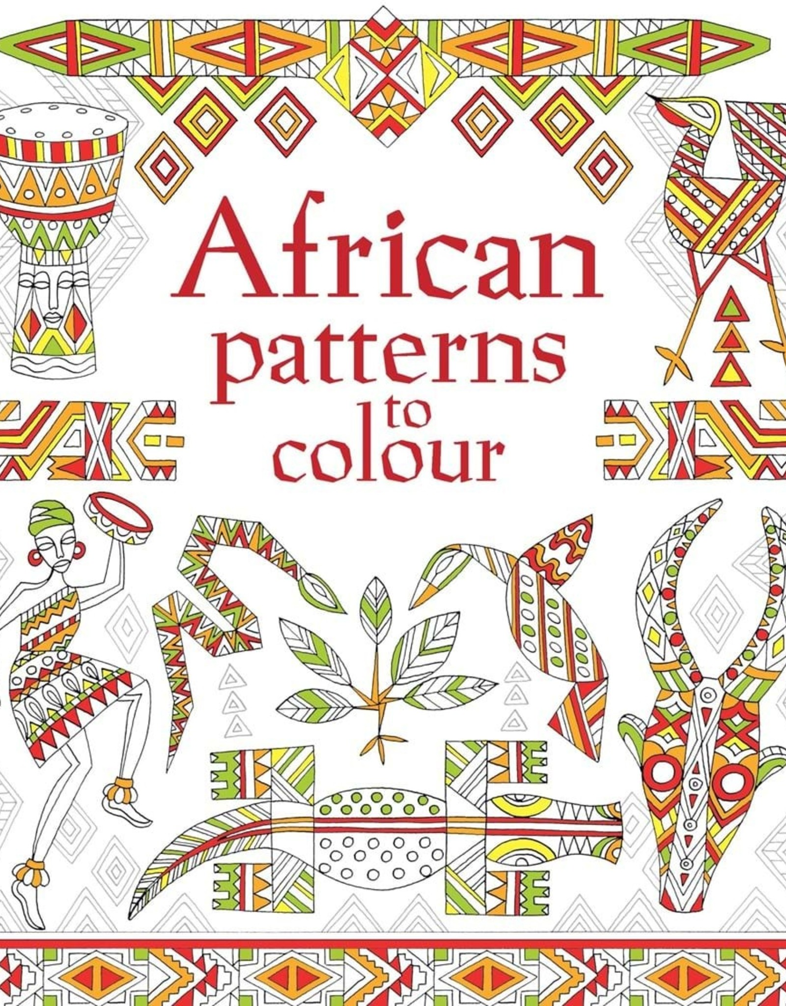 EDC Publishing Coloring Book: African Patterns  to Color