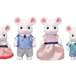 Epoch Everlasting Play Marshmallow Mouse Family