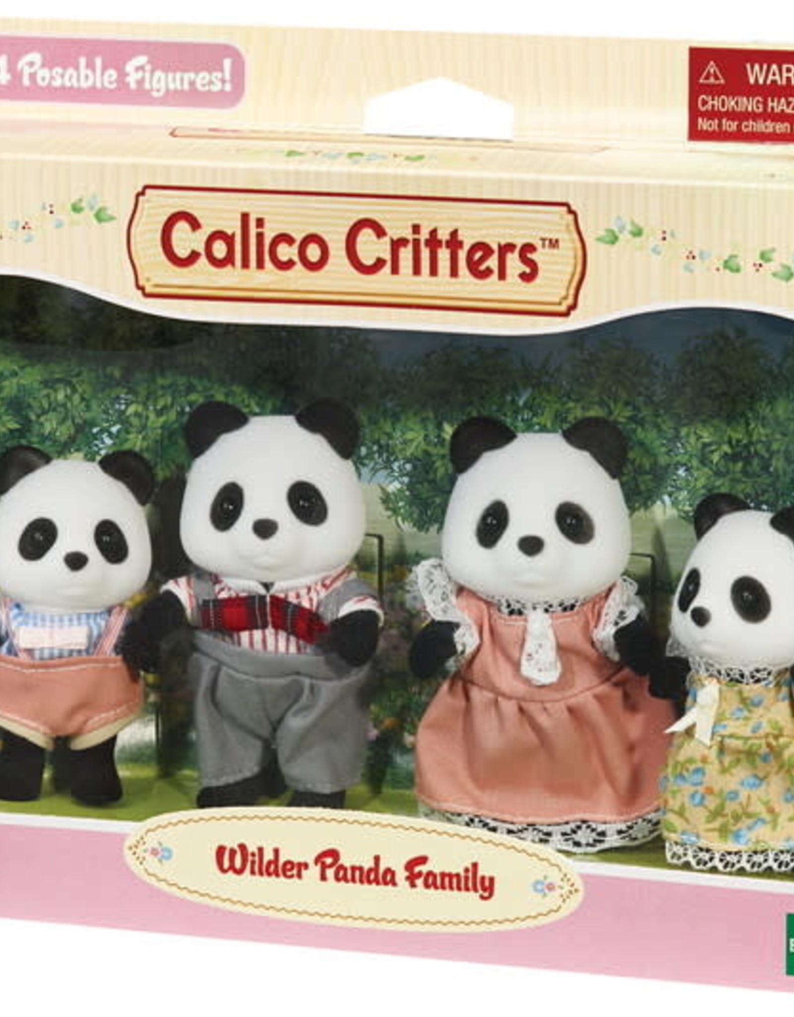 Epoch Everlasting Play Wilder Panda Bear Family