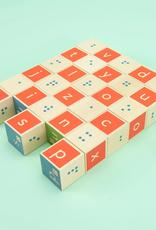 Uncle Goose Braille Alphabet Blocks