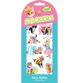 Peaceable Kingdom Kitty Ballet Stickers