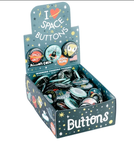 Badge Bomb Button: I Heart Space