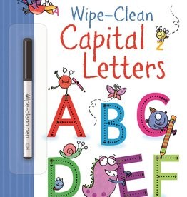 EDC Publishing Wipe-Clean Capital Letters