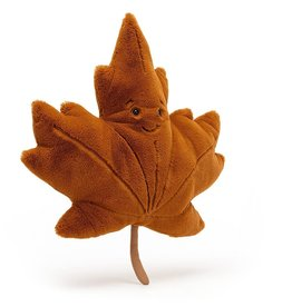 Jellycat Maple Leaf 17""