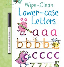 EDC Publishing Wipe-Clean Lower-case Letters