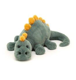 "Jellycat Douglas Dino: Medium 15"""