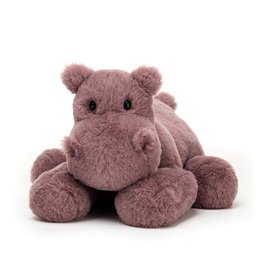 Jellycat Huggady Hippo: Medium 9""