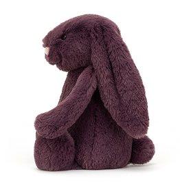 "Jellycat Bashful Plum Bunny: Large 15"""