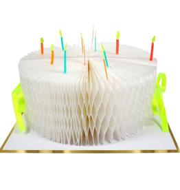 Meri Meri Card: Birthday Cake Honeycomb