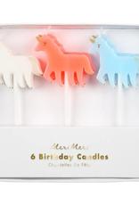 Meri Meri Candle: Pastel Unicorn