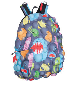MadPax Monsters on Grrray Half Backpack