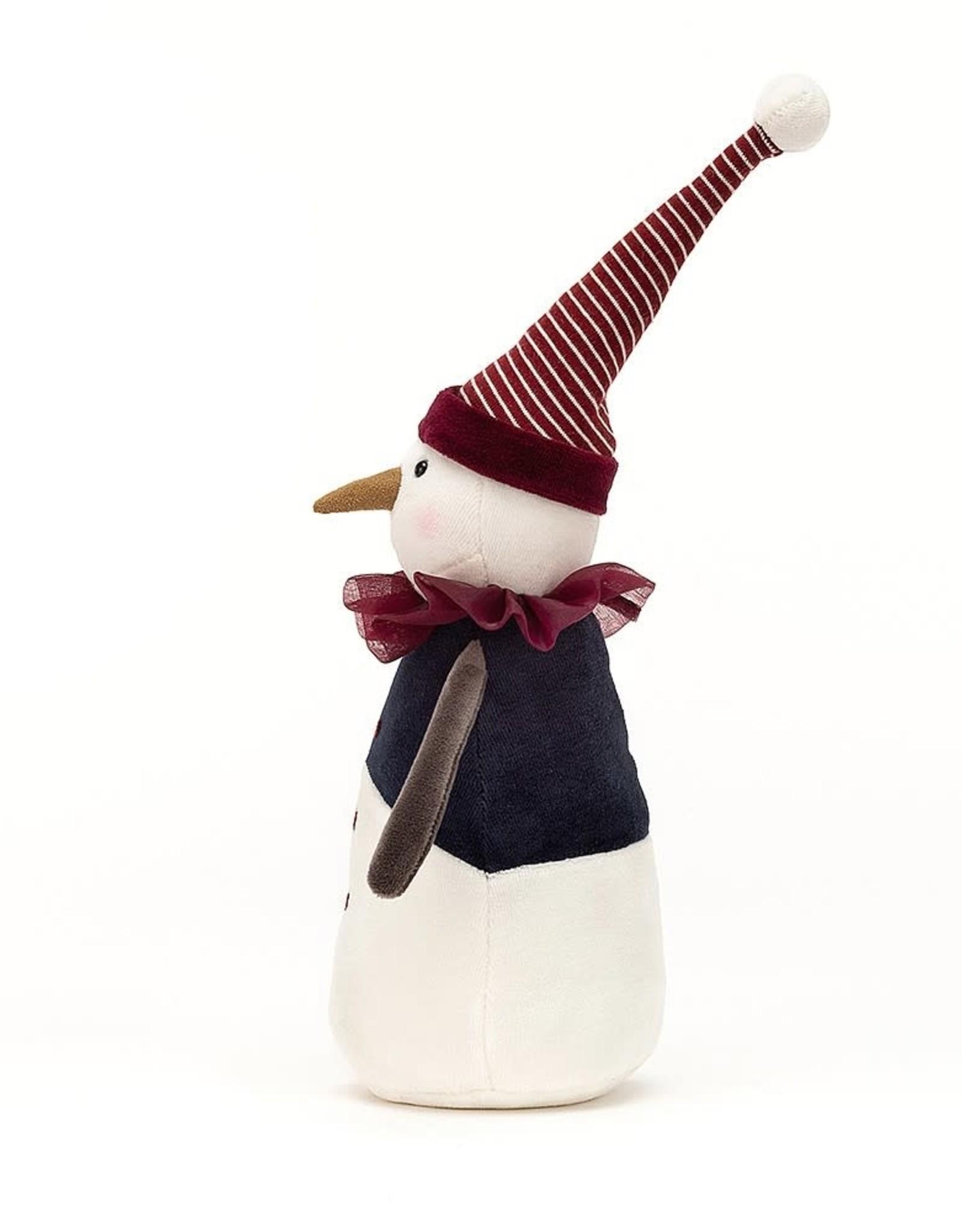 """Jellycat Yule Snowman 14"""""""