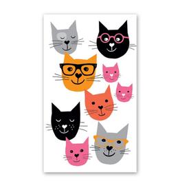 Rock Paper Scissors Enclosure Card: Kitty Cat Friends