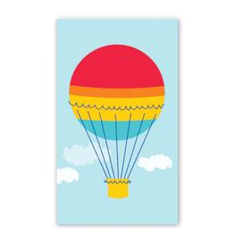 Rock Paper Scissors Enclosure Card: Hot Air Balloon