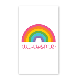 Rock Paper Scissors Enclosure Card: Awesome Rainbow