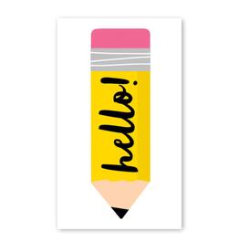 Rock Paper Scissors Enclosure Card: Big Pencil