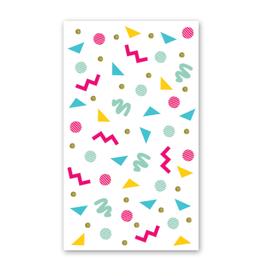Rock Paper Scissors Enclosure Card: Elements Pattern