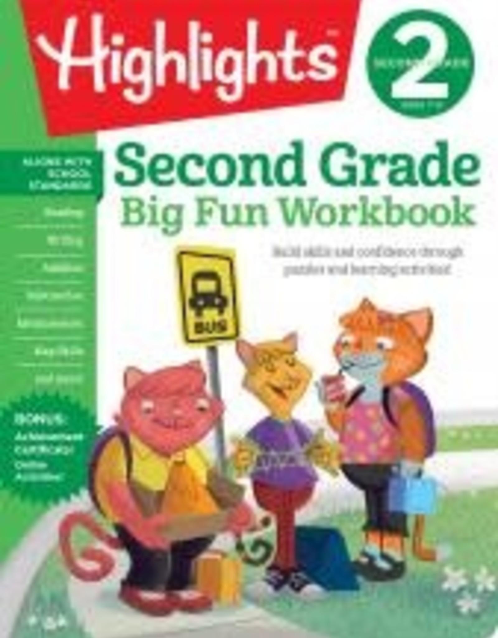 Random House/Penguin Highlights: Second Grade Workbook