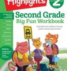 Random House/Penguin Highlights: Second Grade Workbook