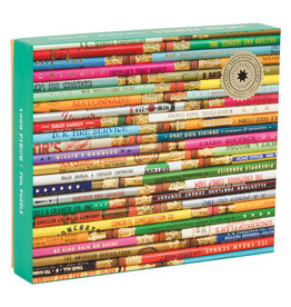 Chronicle Books 1000 pc Puzzle: Foil Phat Dog Vintage Pencils