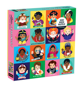 Chronicle Books Little Feminist 500 Piece Family Puzzle