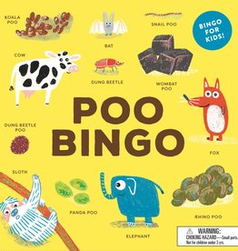 Chronicle Books Poop Bingo