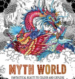 Chronicle Books Myth World Coloring Book