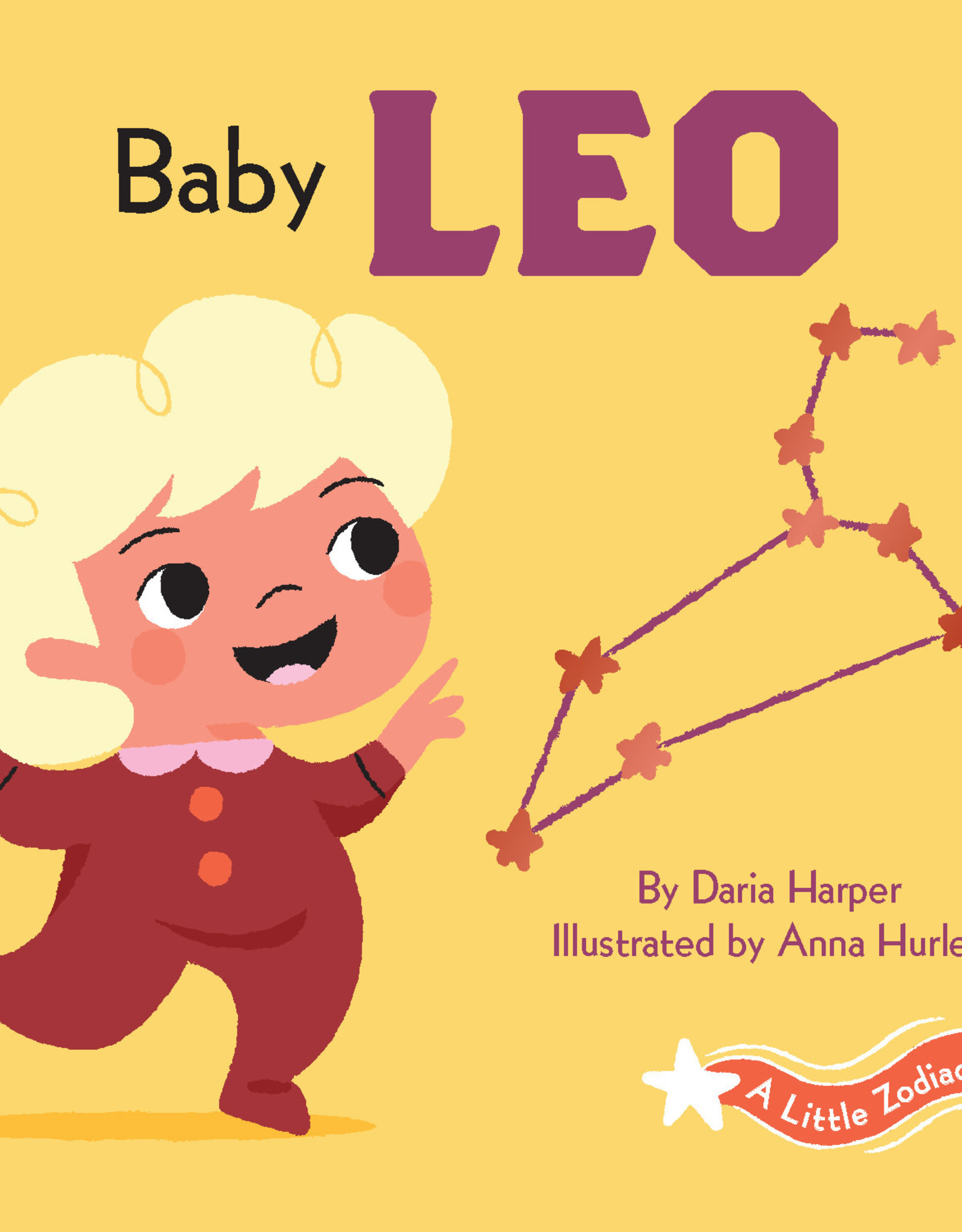 Chronicle Books A Little Zodiac Book: Baby Leo