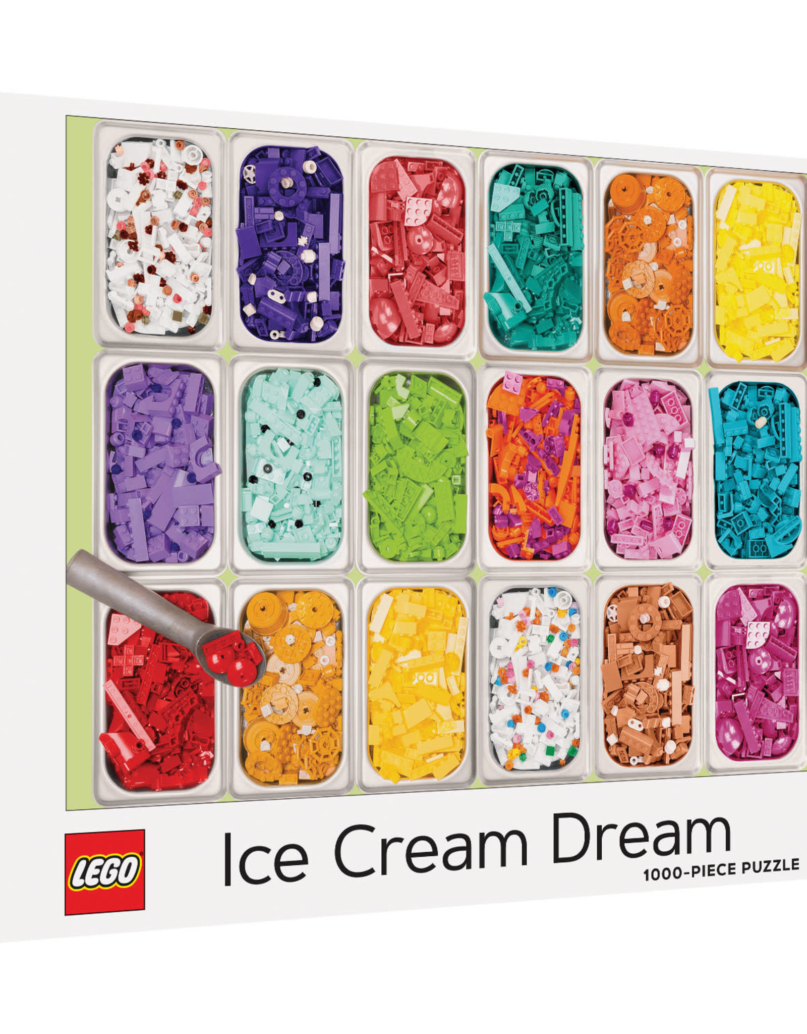 Chronicle Books 1000pc Puzzle: LEGO Ice Cream Dream