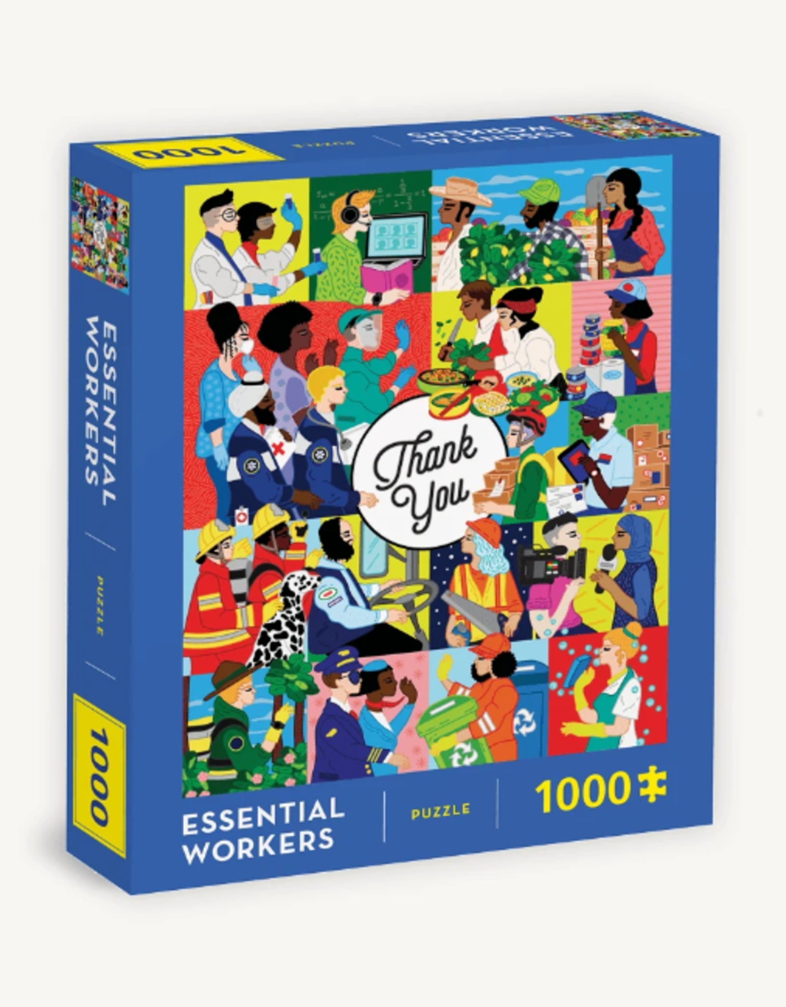 Chronicle Books 1000 pc Puzzle: Essential Workers