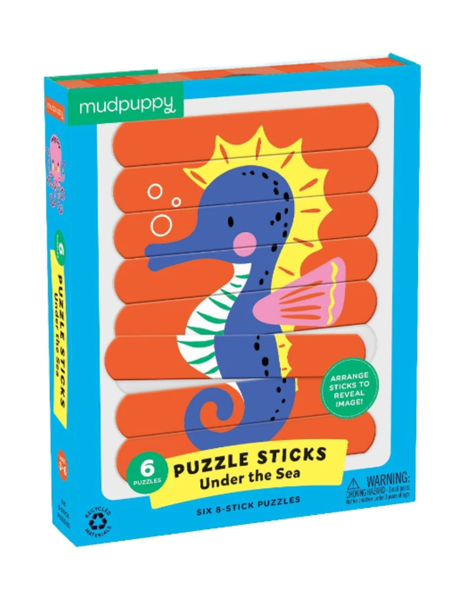 Chronicle Books 24 pc Stick Puzzle: Under the Sea