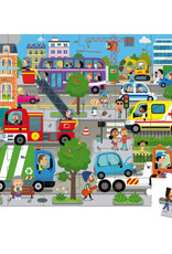 Janod 36 pc Puzzle: City Life