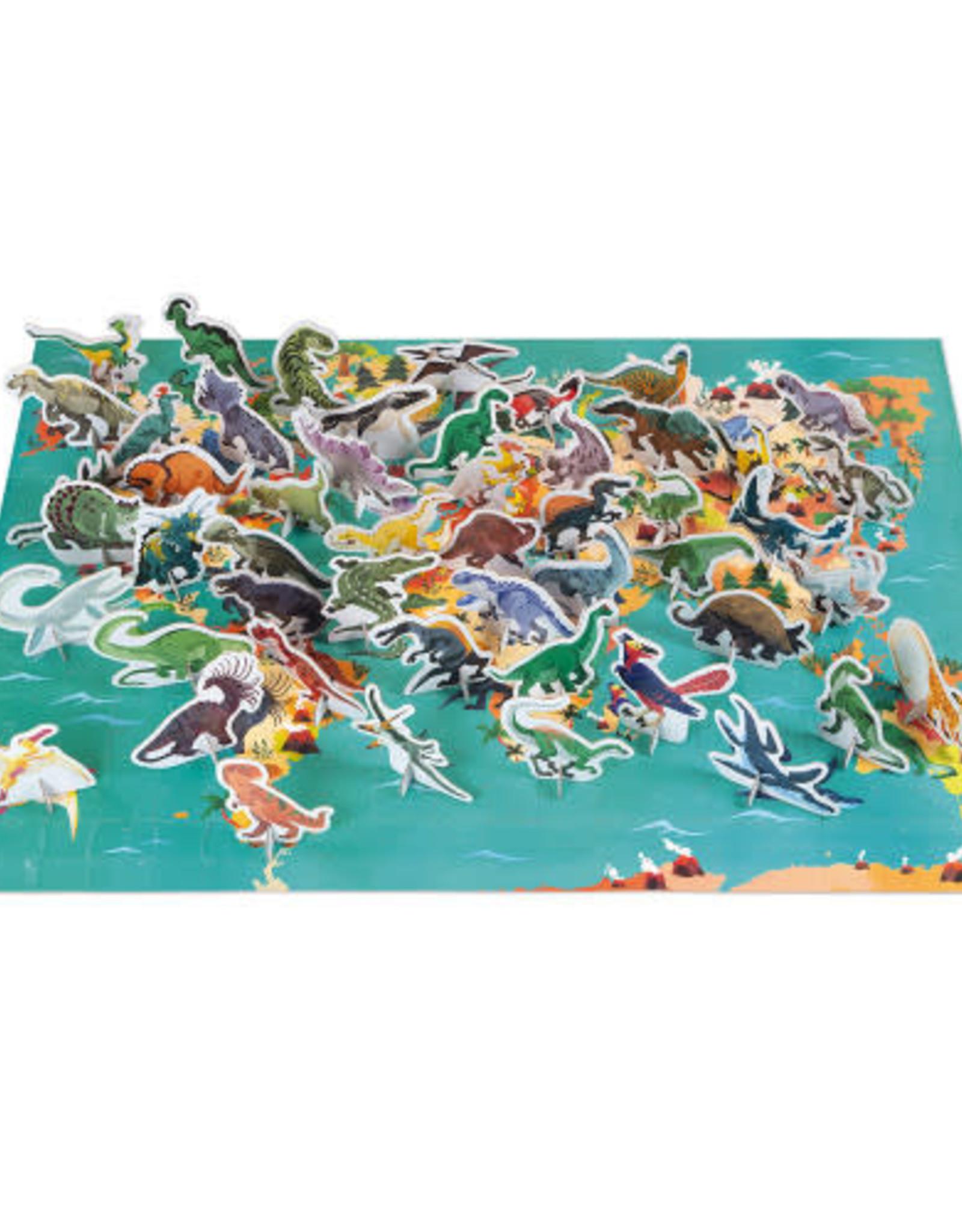 Janod 3D Puzzle: Dinosaurs