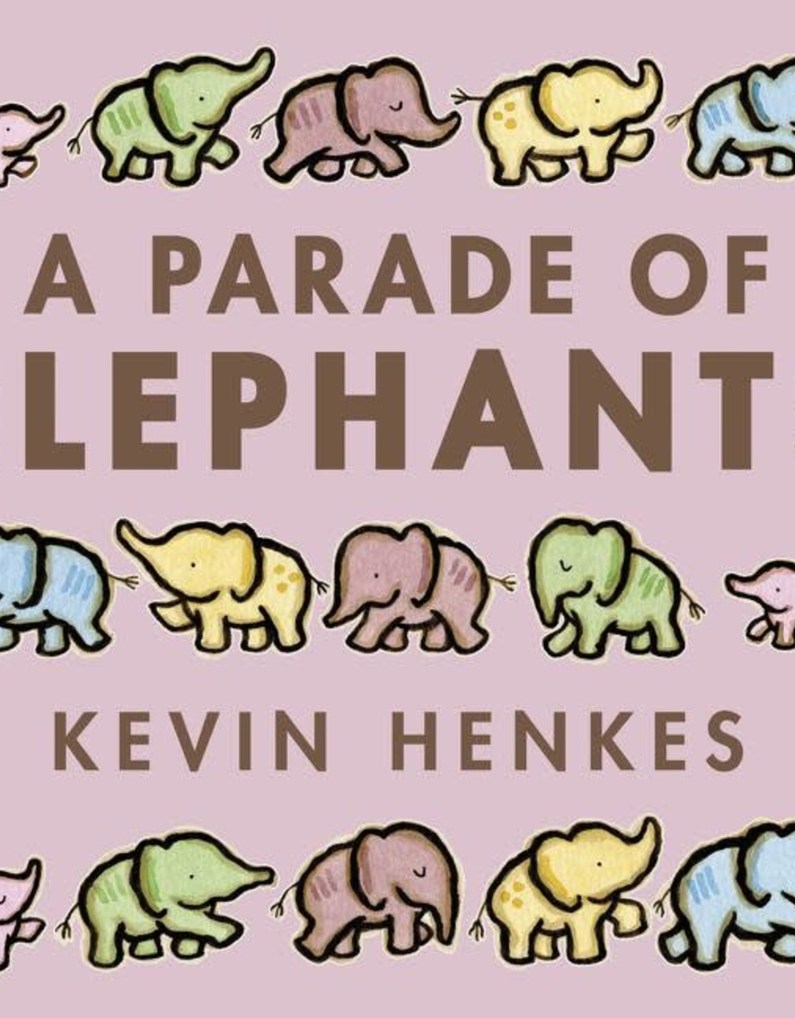 Harper Collins A Parade of Elephants