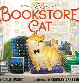 Harper Collins Bookstore Cat