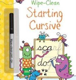 EDC Publishing Wipe-Clean: Starting Cursive