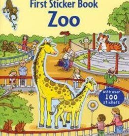 EDC Publishing First Sticker Book: Zoo