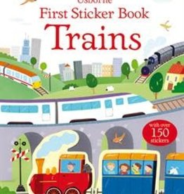 EDC Publishing First Sticker Book: Trains