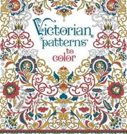 EDC Publishing Coloring Book: Victorian Patterns to Color
