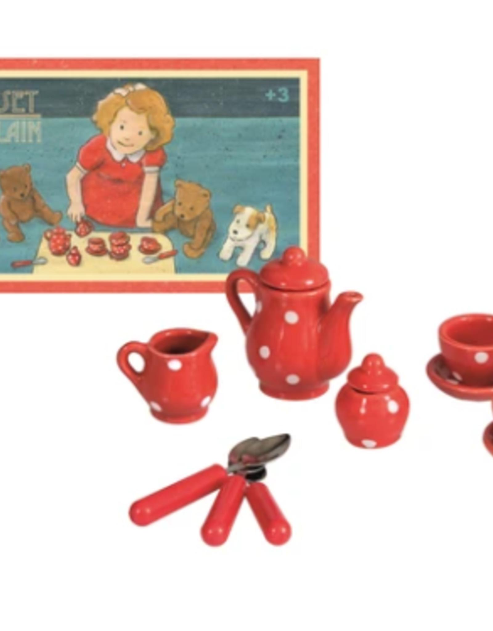 Hotaling Mini Tea Set Porcelain