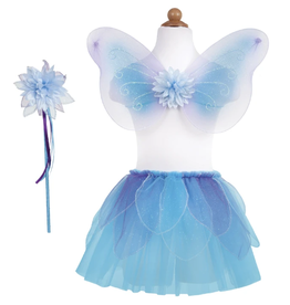 Creative Education Fancy Flutter Skirt w/ wand and wings-Blue