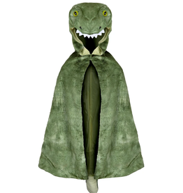 Creative Education T-Rex Hooded Cape: Size 4-5