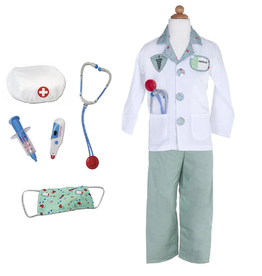 Creative Education Green Doctor with Accessories: Size 5-6