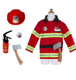 Creative Education Firefighter Set with Accessories: Size 5-6