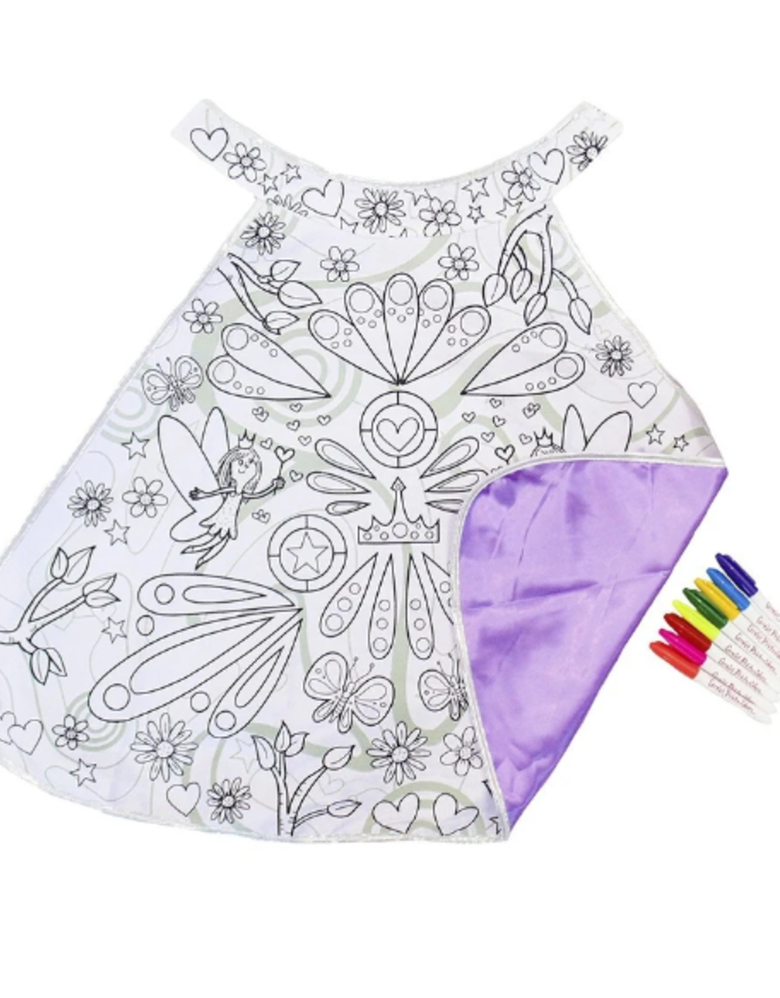Creative Education Colour-A-Cape Fairy: Size 4-7