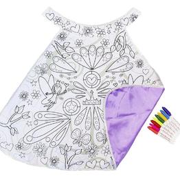 Creative Education Colour-A-Cape Fairy: Size 4-7