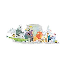 Djeco 36pc Puzzle: Animal Parade